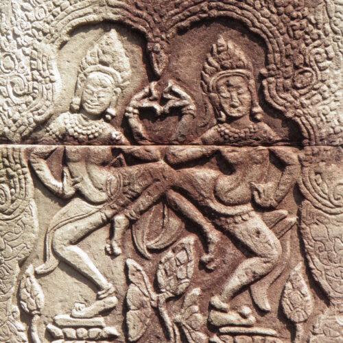 Apsara - Temple Banteay Kdei, Siem Reap, Cambodge