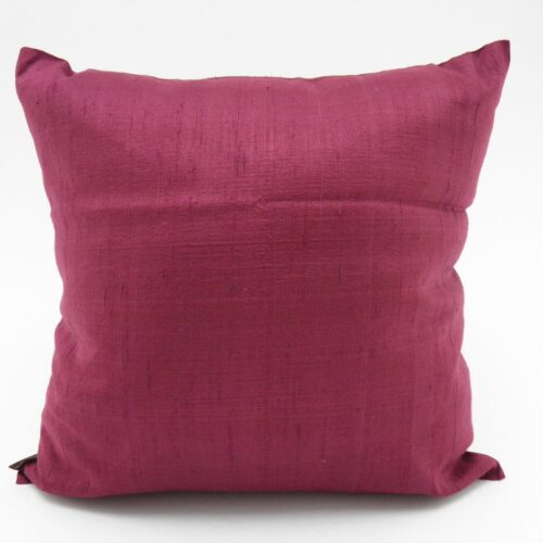 Raw Silk Cushion Covers - Grapes
