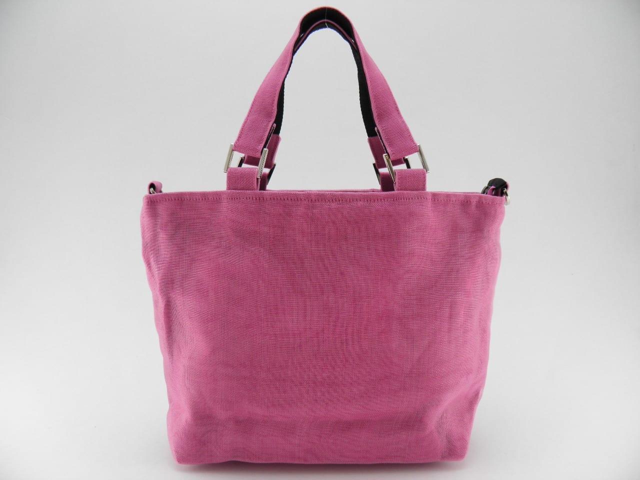 Unix - Ethical handbag - Small - Pink - verso