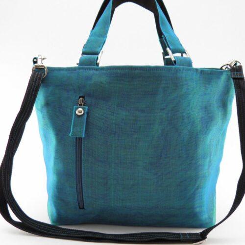Unix - Ethical handbag - Small - Oil blue