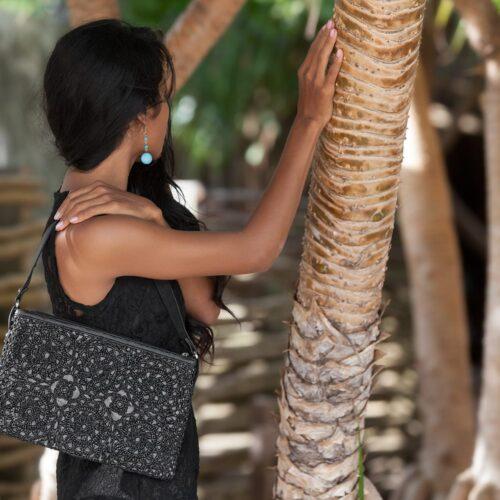 Track - Eco-friendly Shoulderbag - Charcoal