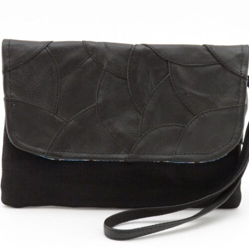 Embed – Eco-friendly Leather Clutch Bag