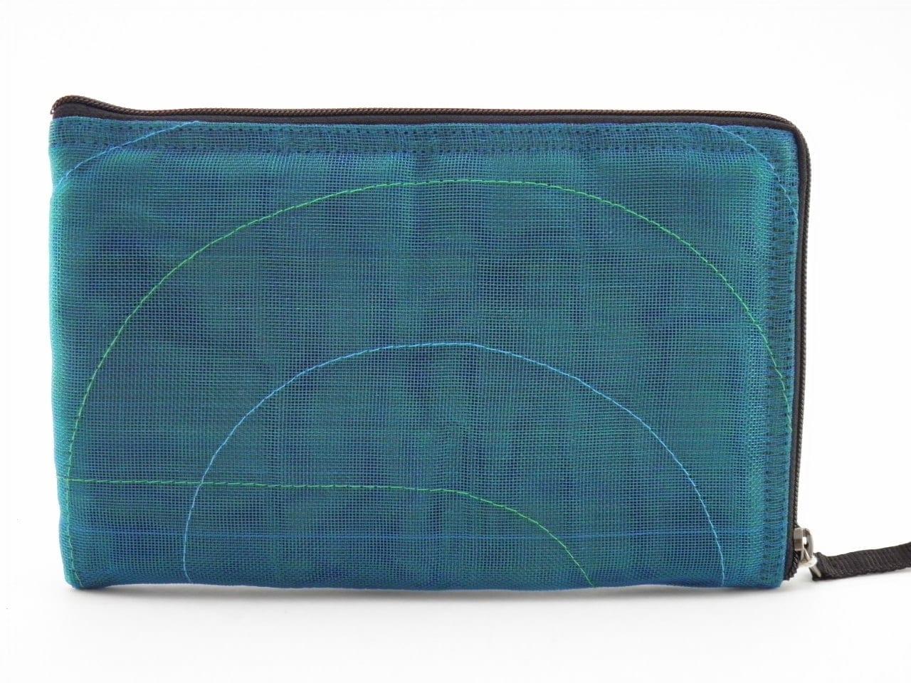 Server App Ethic iPad Mini sleeve - Oil blue - verso