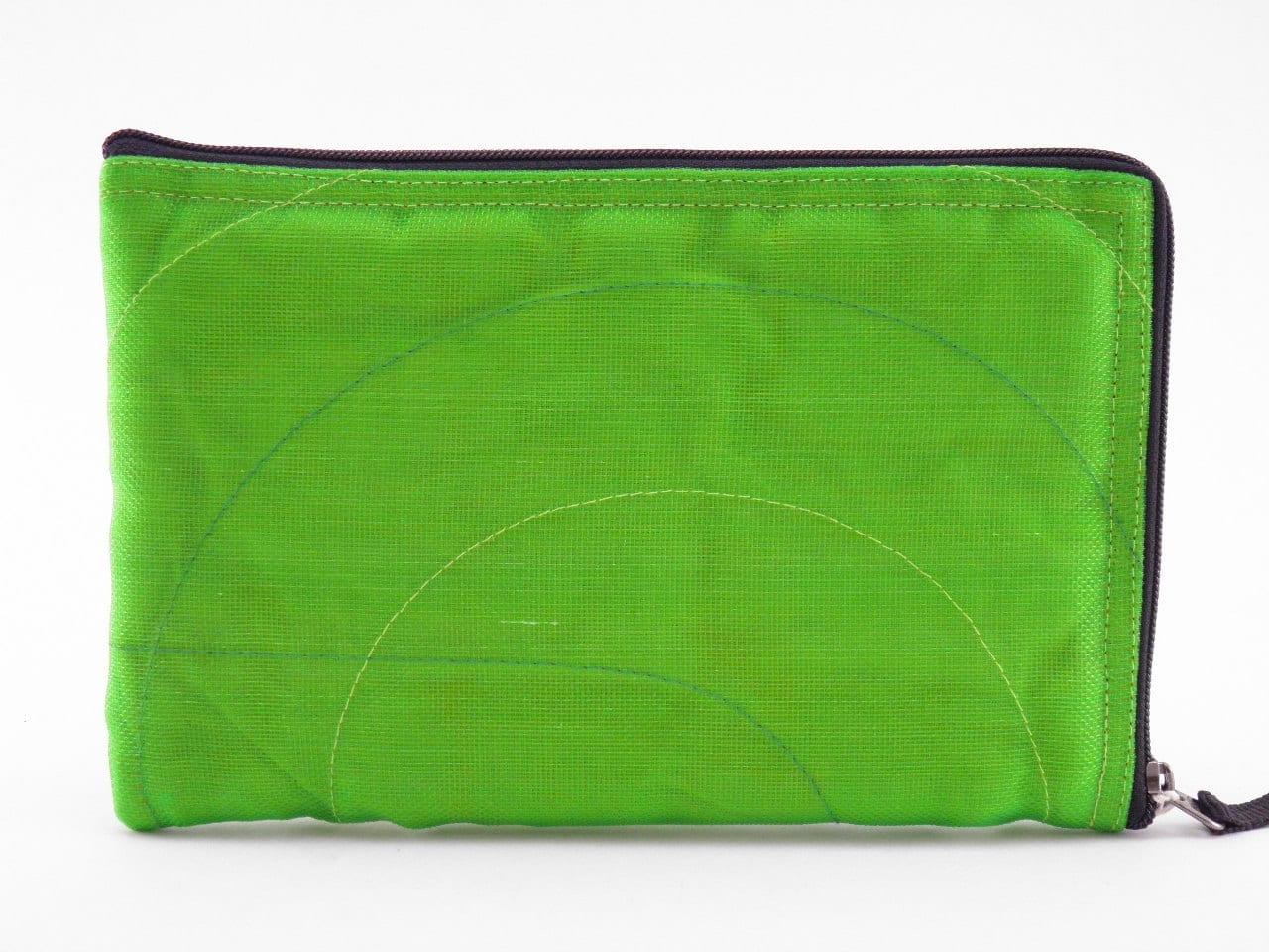 Server App Ethic iPad Mini sleeve - Apple green - verso