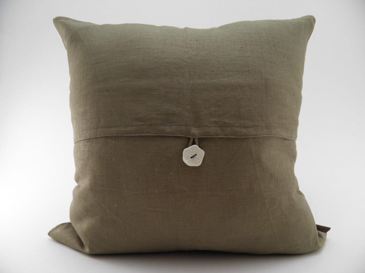 Cocoon Cushion Cover - Natural - verso