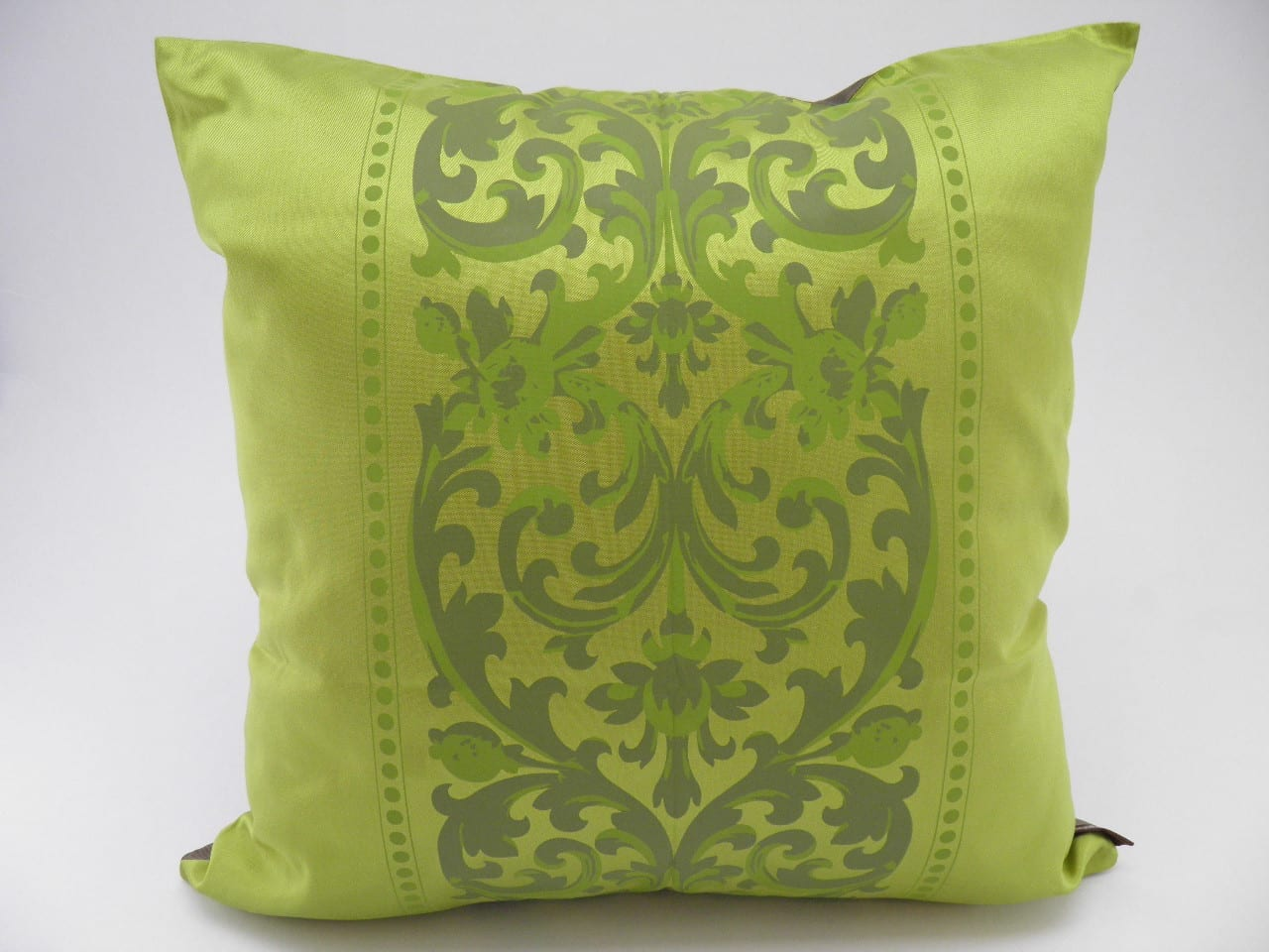 Angkor Cushion Cover – 2 in 1 - Bronze / Anise - 45x45cm