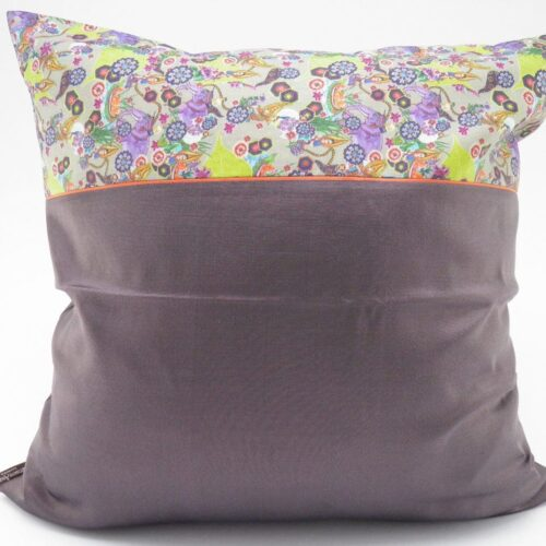 Jungle Chic – Silk Cushion Cover