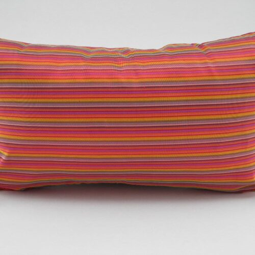Charming Cushion Cover - Multicolor Red - 45x27cm