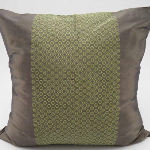 Chorebap Jasmine – Cushion Cover - Bronze / Anis - 45x45cm