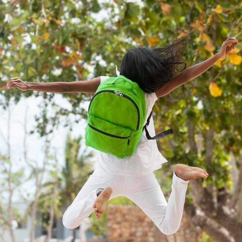 Perl - Ethical Backpack - Apple Green