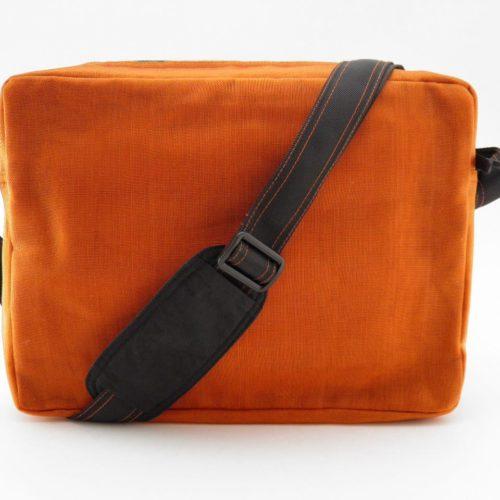 Header - Shoulder bag - Orange - verso