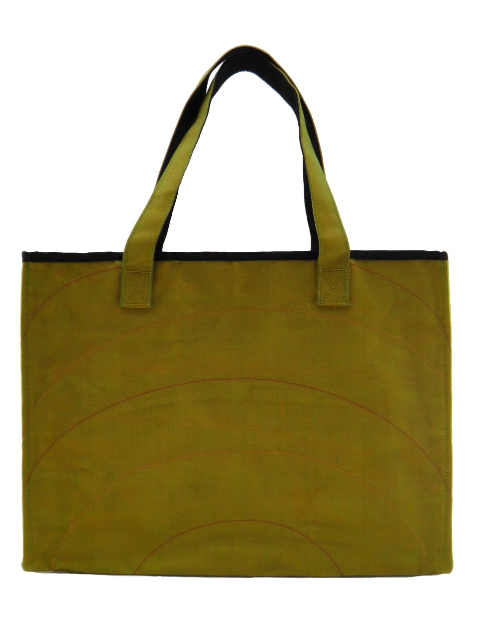 Random Admin - Tote bag - Yellow - verso