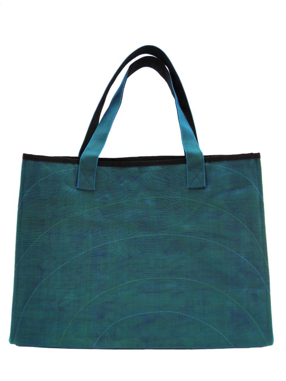 Random Admin - Tote bag - Petrol blue - verso