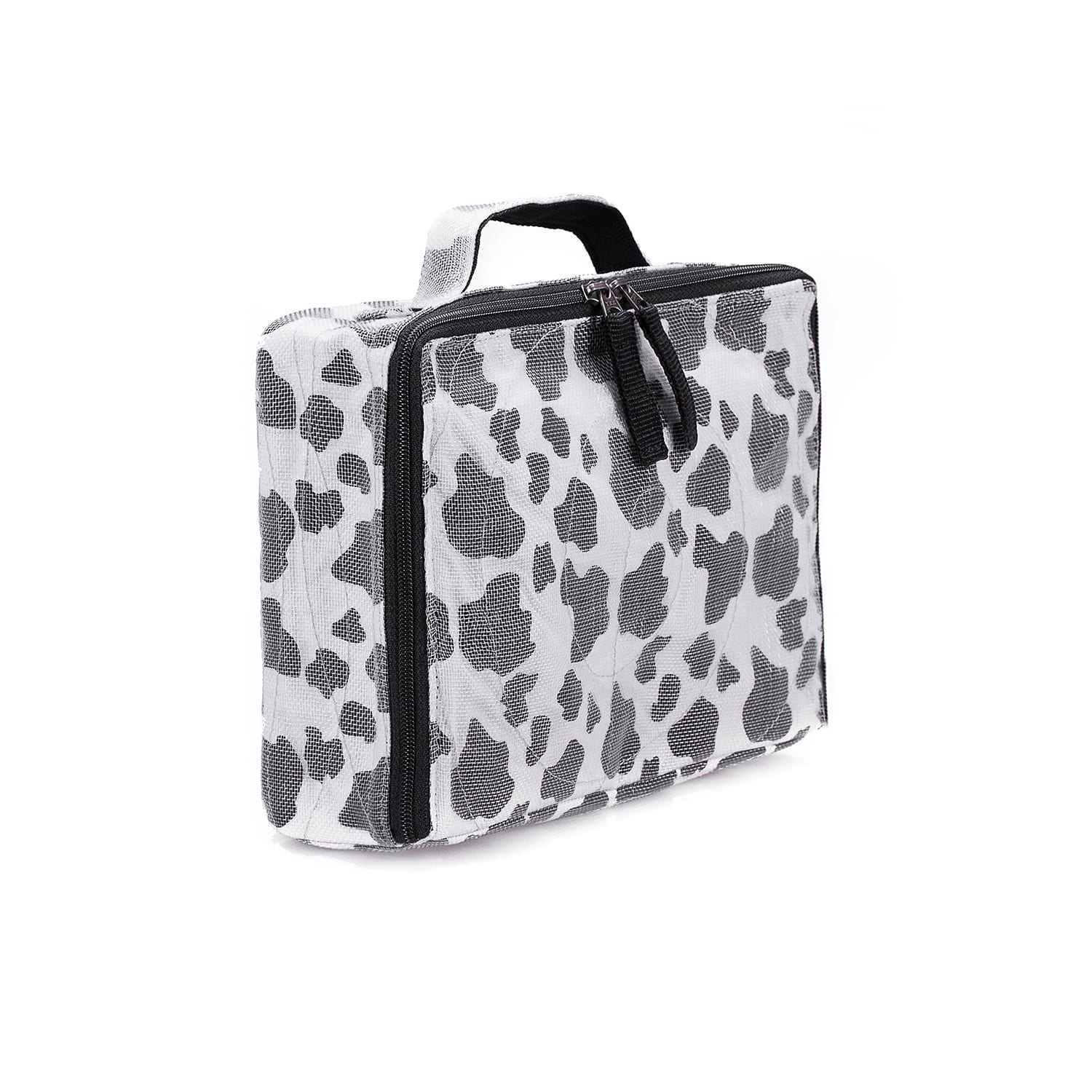 User - Accessories case - Black and white spotted