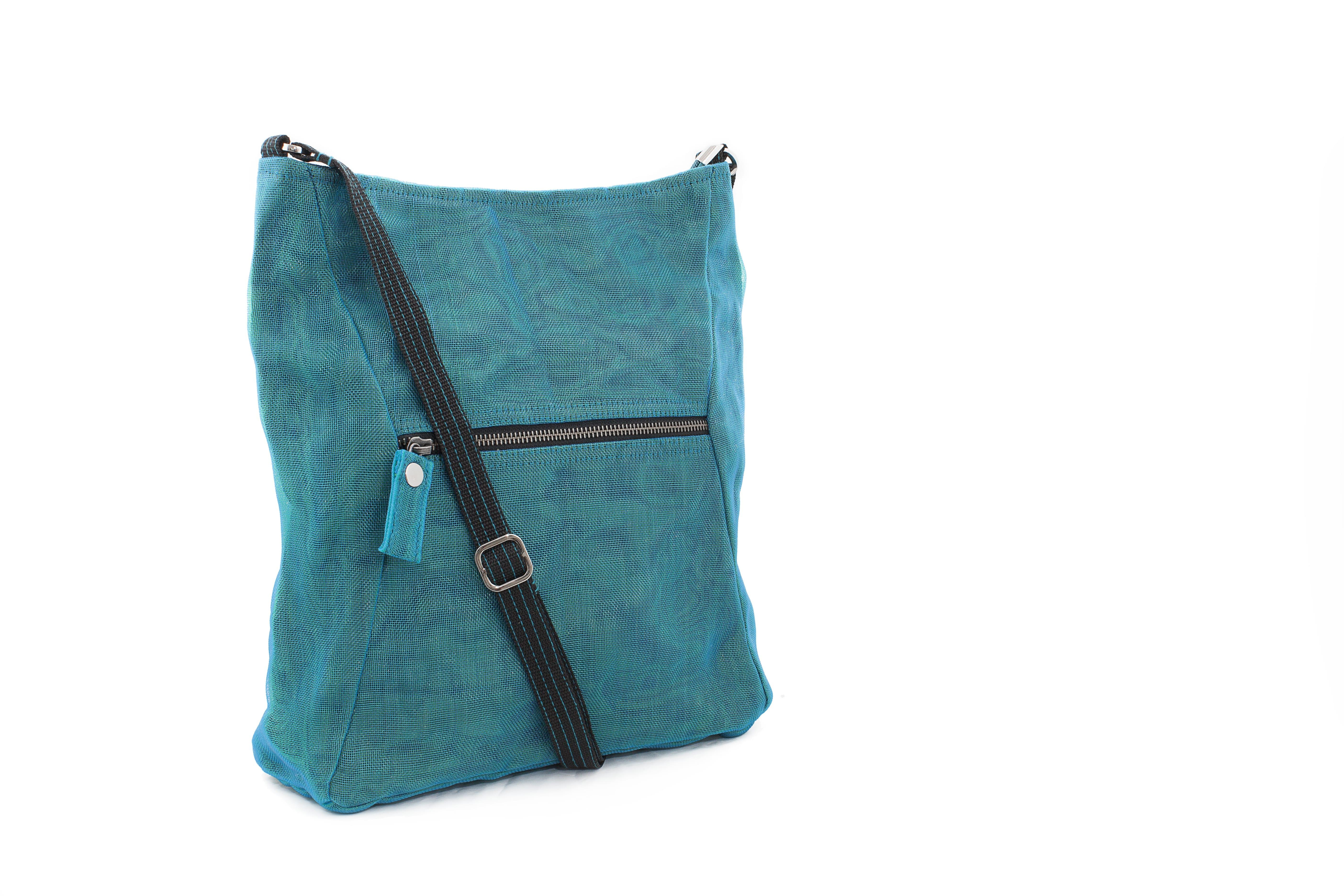 Peer - Ethical shoulder bag - Oil blue