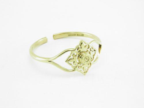 Le Bracelet – Carreau Et Enclume – Laiton Recyclé