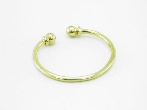 Le Bracelet Laiton Recyclé – Deux Billes
