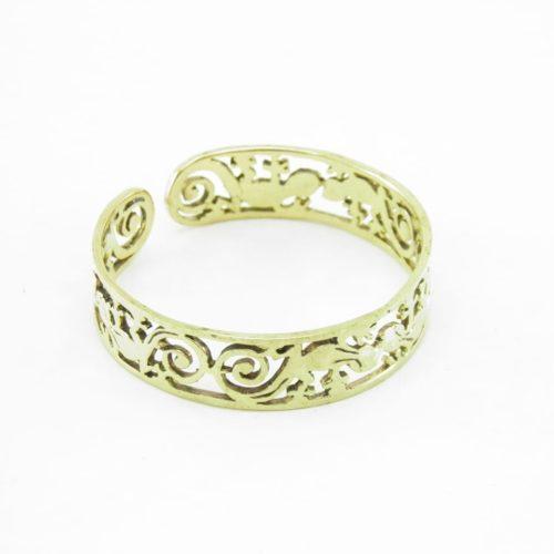 Recycled Brass Bracelet – Geico