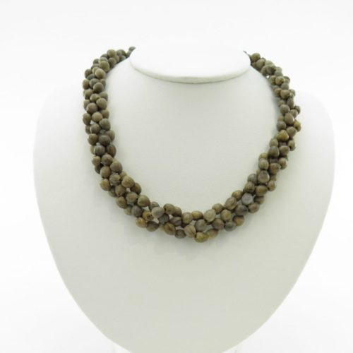 Small Short Kround – Natural Seeds Necklace