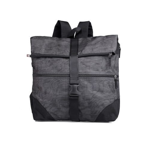 COMMA - techno ethical backpack - Small - Charcoal