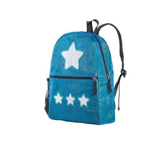 Aster - ethical backpack - Star - Small - Oil blue