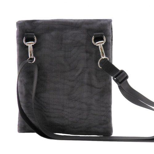 ESC - Ethical hip bag - Charcoal - verso