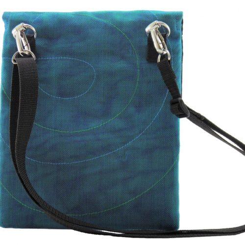 ESC - Ethical hip bag - Oil blue - verso