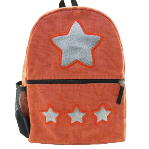 Aster - ethical backpack - Star - Small - Red