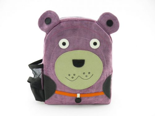 Collection enfants - sac à dos éthique - Ourson - Extra small - Lilas
