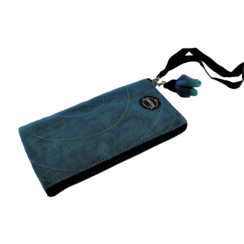 Zip - Ethical Cellulaire Sleeve - iPhone5 (P41LN) - Oil blue