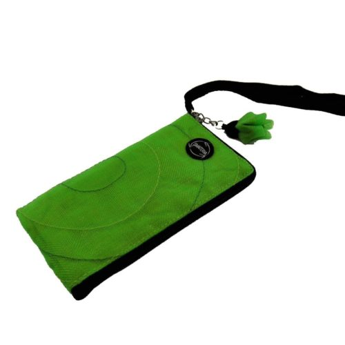 Zip - Ethical Cellulaire Sleeve - iPhone5 (P41LN) - Apple green