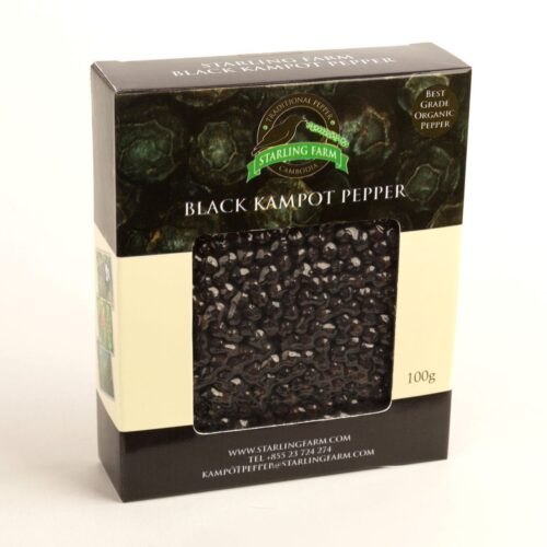 Kampot Pepper Black – Ecocert Certified