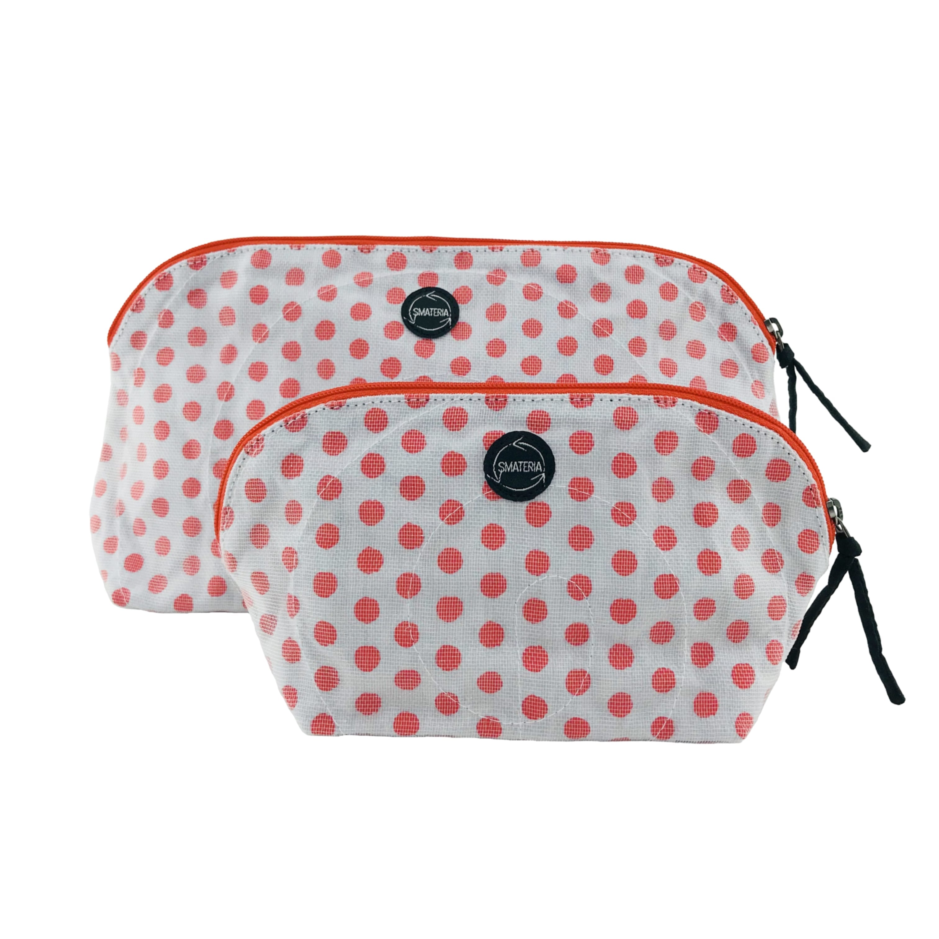 Markup - Makeup pouch - Large - Small - Red dots