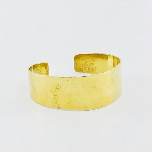 Plain Bracelet – Recycled Brass