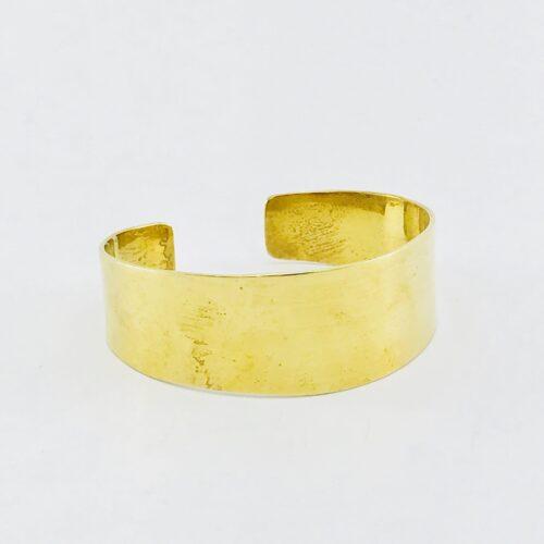 Plain Bracelet – Recycled Brass