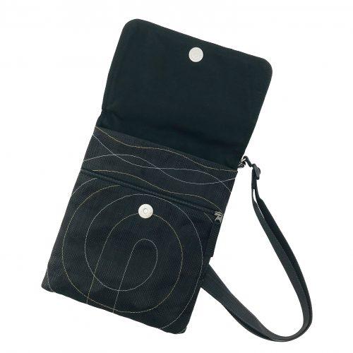 ESC – Ethical hip bag - Black - open