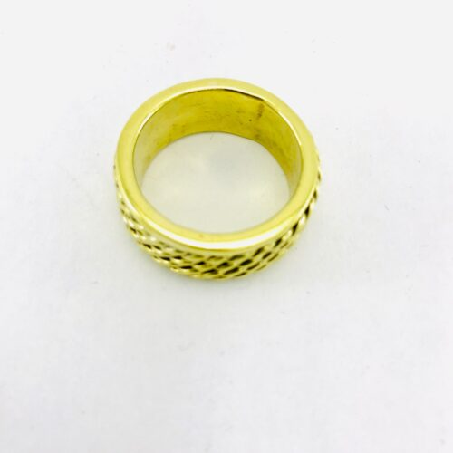 Braided Ring - Recycled Brass
