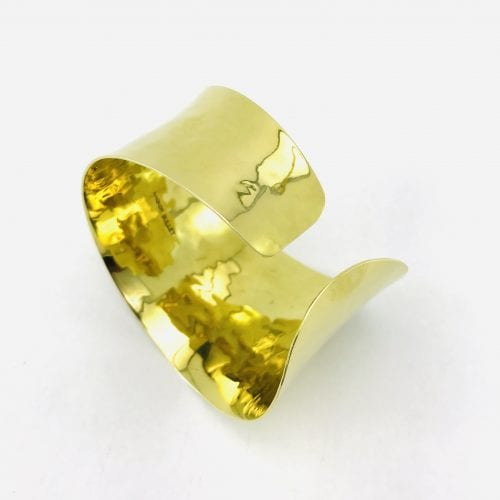 Bandeau Bracelet – Recycled Brass