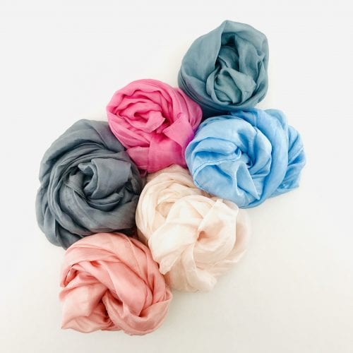Gemstones Collection – Ethical Silk Scarf