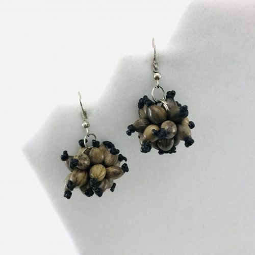 Ball Earrings – Natural Seeds Earrings
