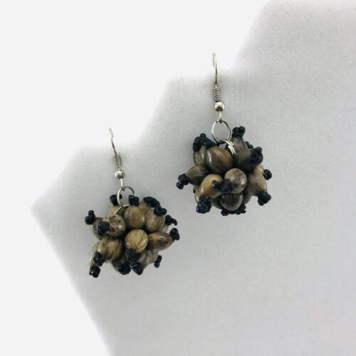 Ball Earrings – Natural Seeds Earrings
