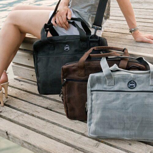 Upload – Ethical Laptop Bag - Smateria