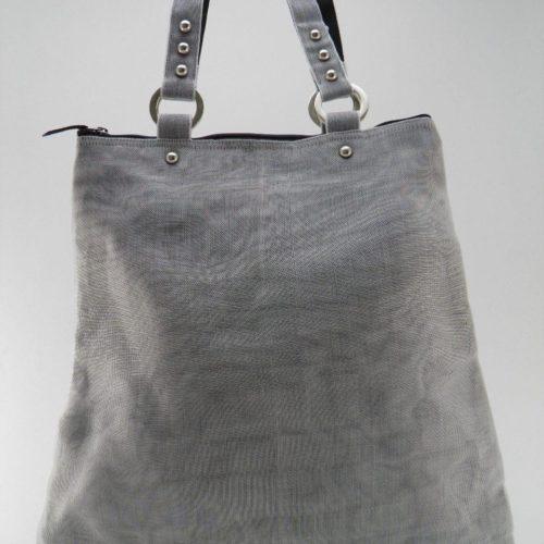 Cache – Tote Bag – Gray - verso