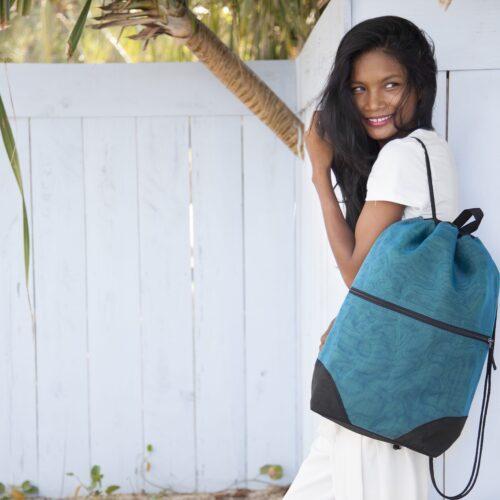 Float – Ethical Backpack – Oil Blue
