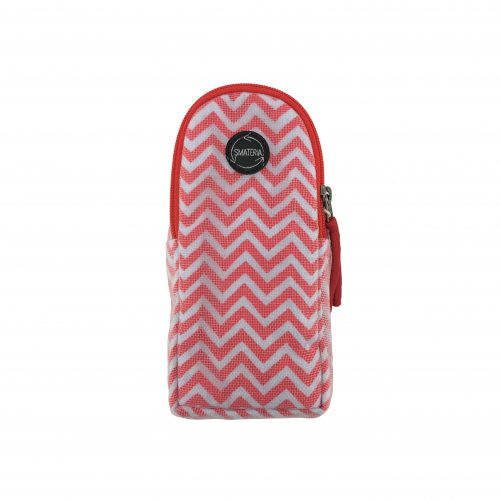 Goggles – Ethical glasses case – Red chevron