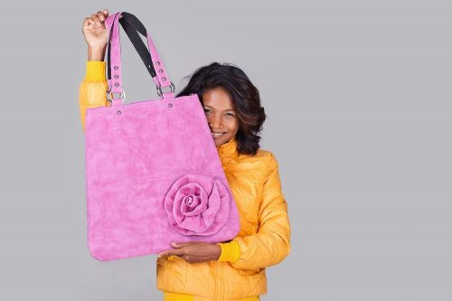 Le Fleuri – Cabas - Rose – Smateria