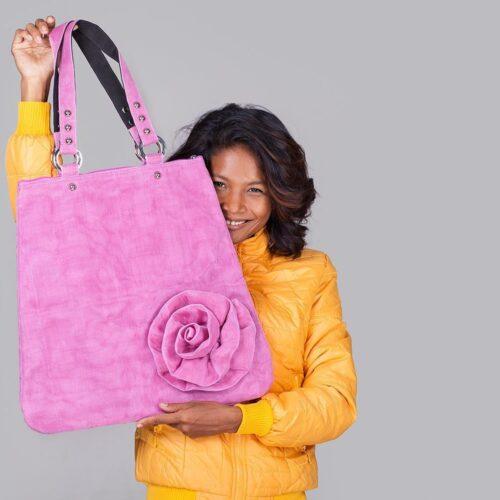 Cache – Tote Bag – Pink - Smateria