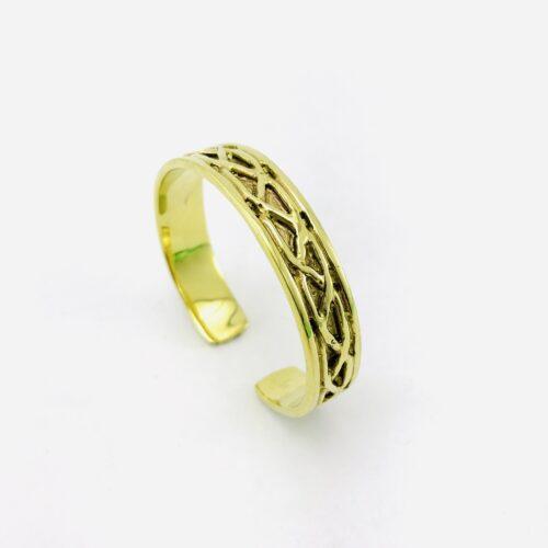 Braided Bracelet – Recycled Brass