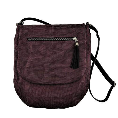 Away – Ethical Crossbody bag – Burgundy