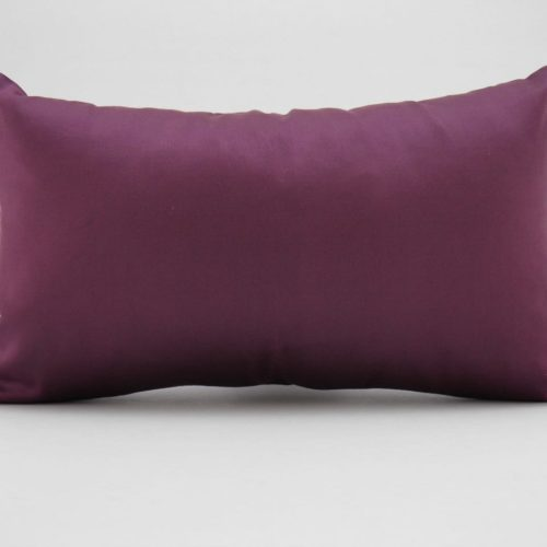 Organza Cushion Cover – Aubergine – 45x27cm